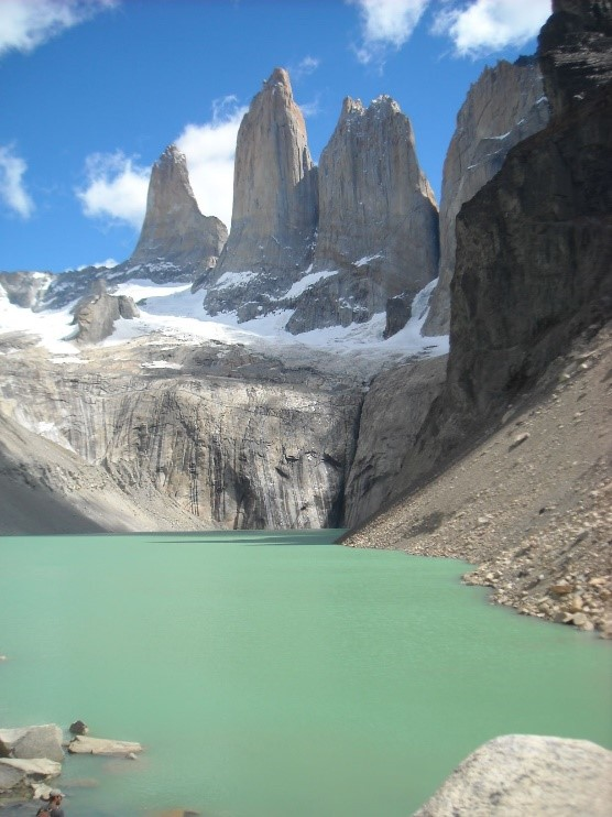 IEP student Francisco Astorga's contest winning photo of the Chilean side of Patagonia.