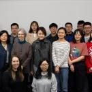 Group photo of GSP students and instructors of the  East Asian Studies Research Seminar.